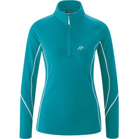 Maier Sports Uschi LS Turtleneck Top Women sea breeze